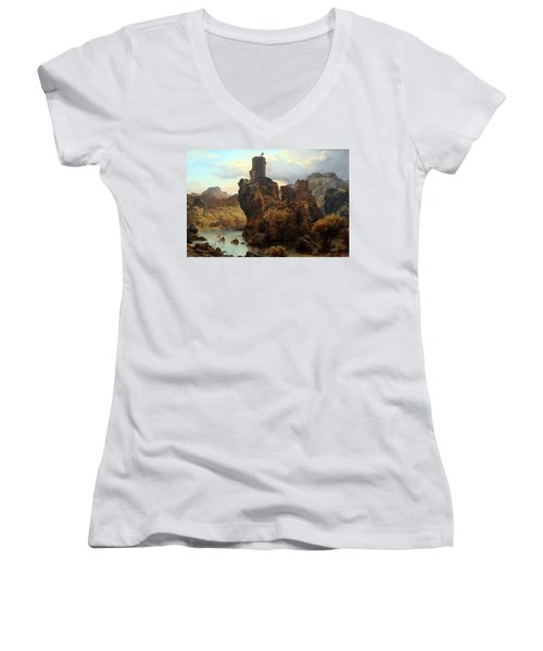 Knights Castle Women's V-Neck