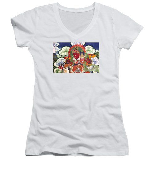 Ladakh_17-2 Women's V-Neck T-Shirt