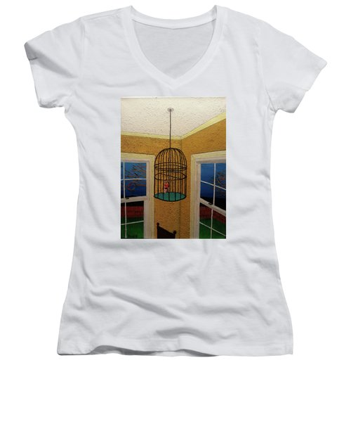 Lady Bird Women's V-Neck