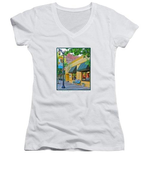 Lady C Storefront-sylvania Women's V-Neck T-Shirt