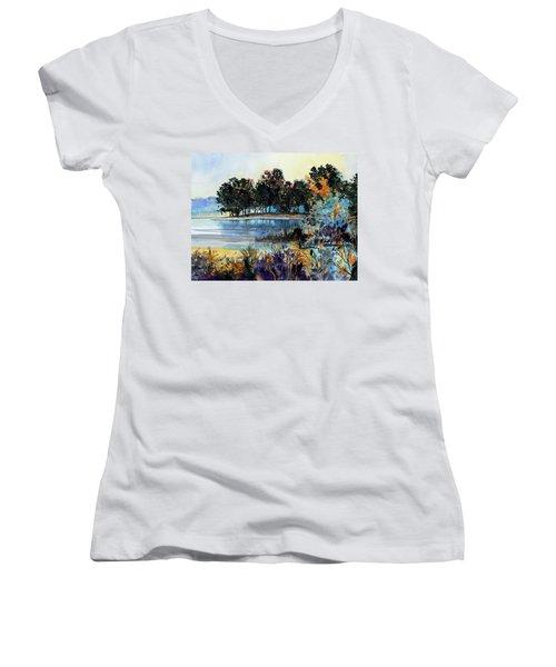 Lake Point Women's V-Neck T-Shirt