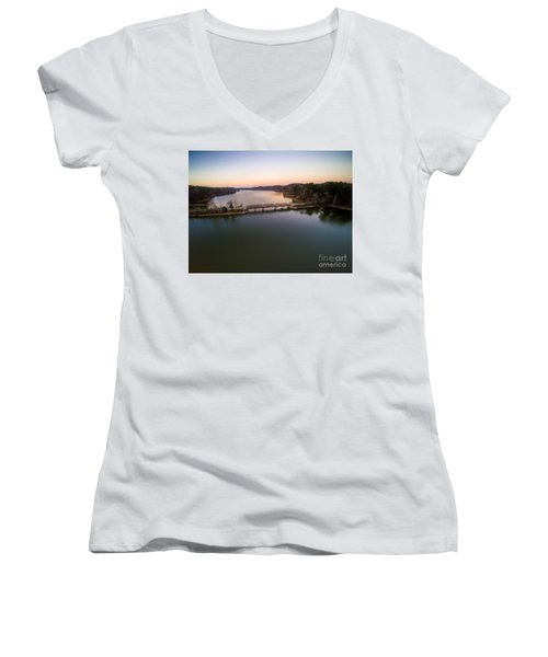 Lake Purdy At Grants Mill Women's V-Neck T-Shirt