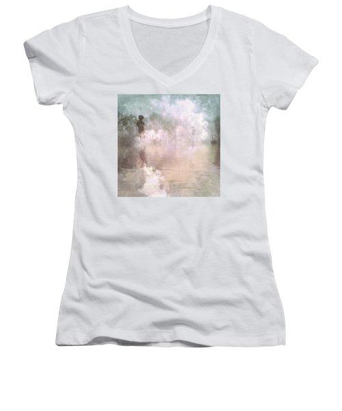 Land Of Ascension Women's V-Neck T-Shirt