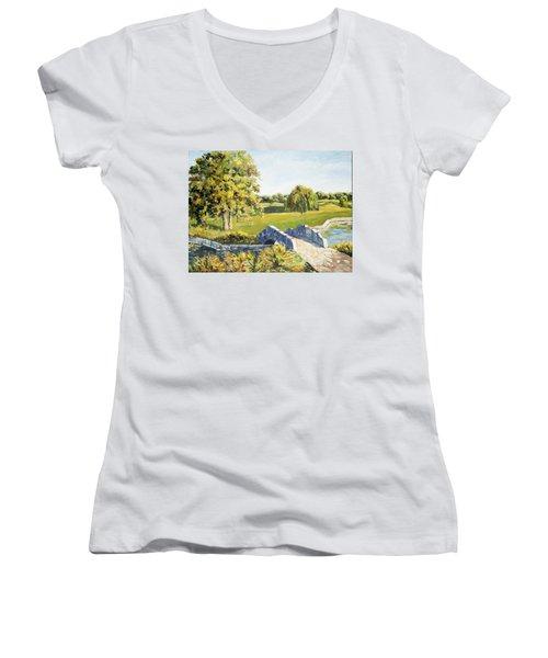 Landscape No. 12 Women's V-Neck