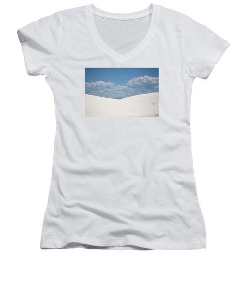 Landscapes Of White Sands 11 Women's V-Neck (Athletic Fit)