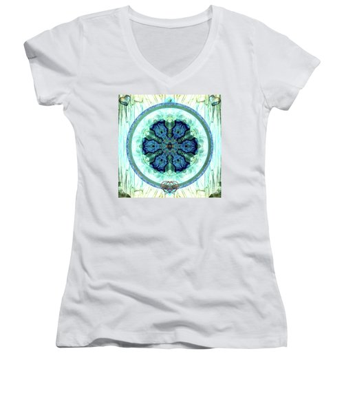 Language Of Love Women's V-Neck (Athletic Fit)