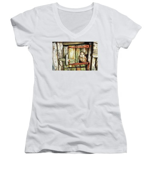 Last Light Women's V-Neck