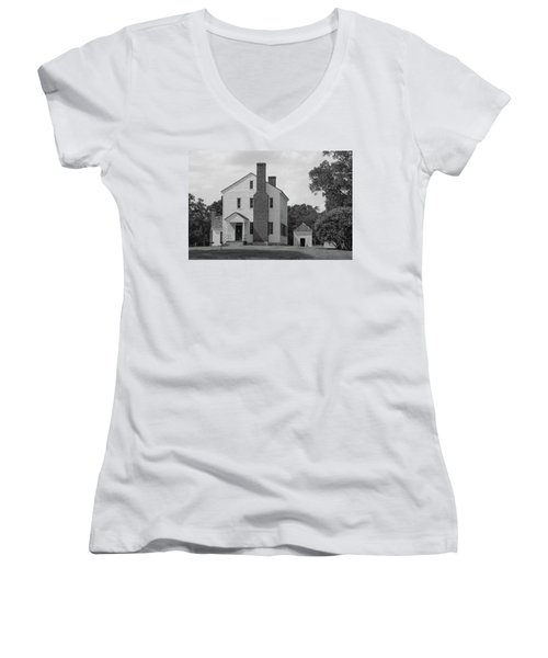 Latta Plantation House Women's V-Neck T-Shirt