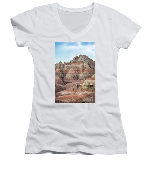 Layer Upon Layer Women's V-Neck T-Shirt