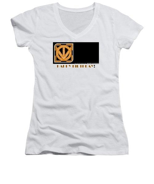 Leader Women's V-Neck T-Shirt (Junior Cut)