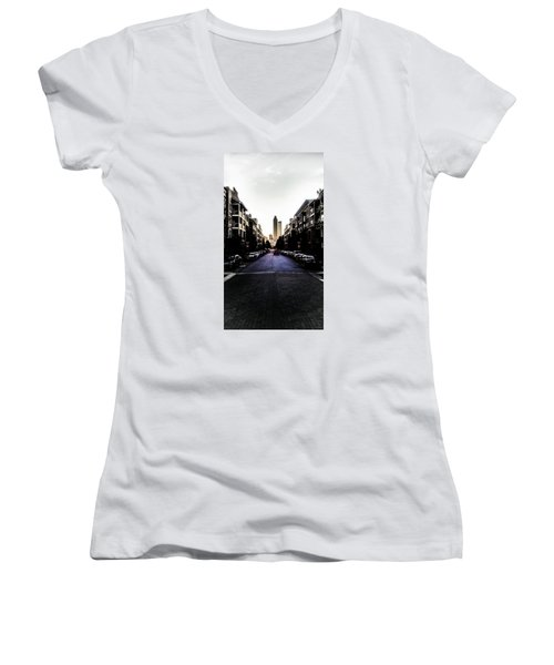Leading Lines Women's V-Neck