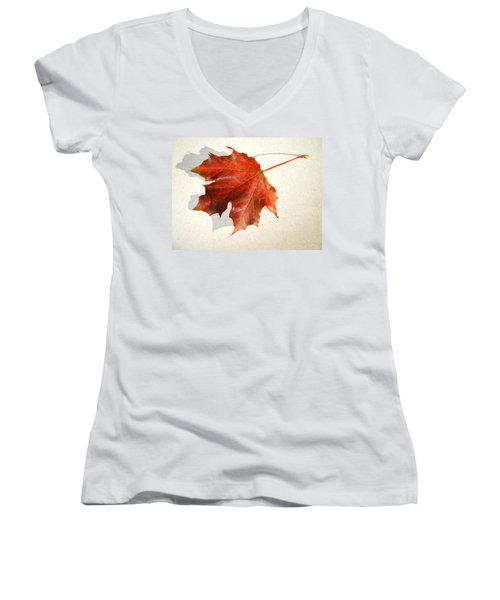 Leaf Women's V-Neck
