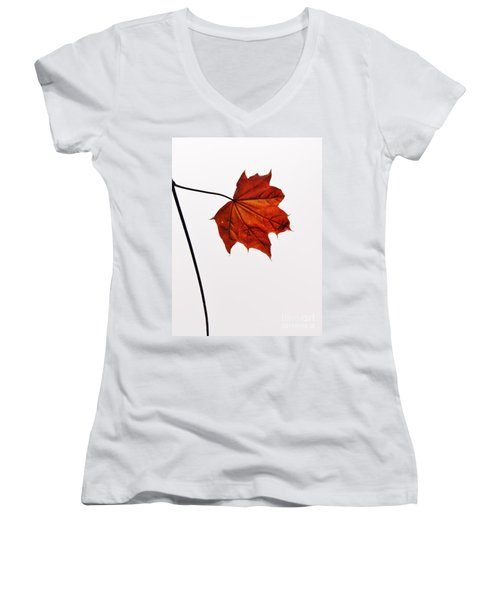 Leaf Women's V-Neck T-Shirt