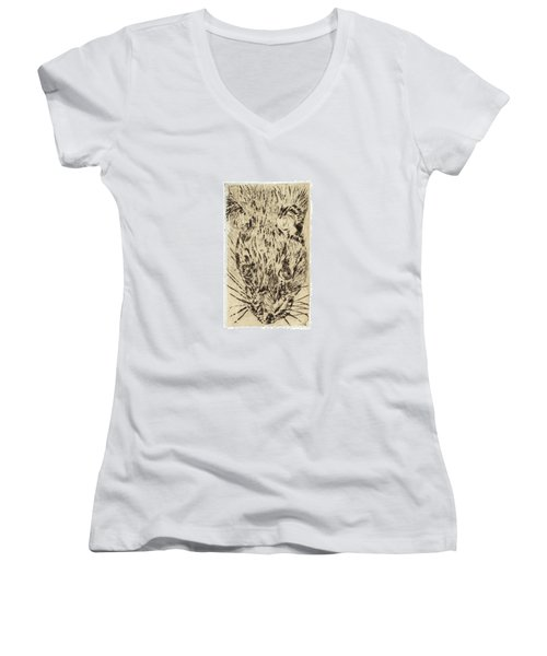 Learning To Love Rats More #2 Women's V-Neck (Athletic Fit)
