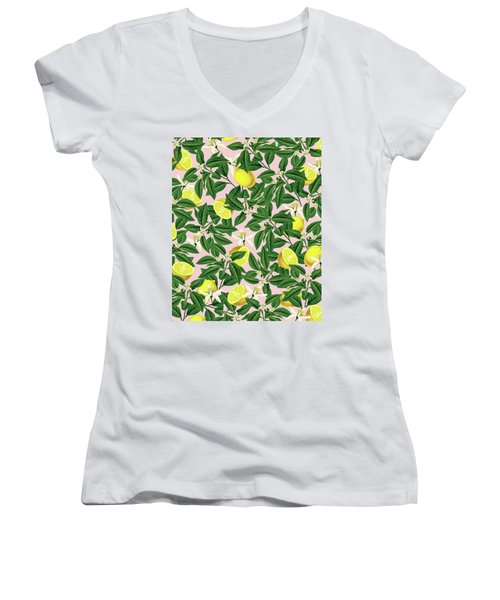 Lemonade Women's V-Neck T-Shirt