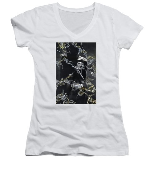 Let Us Dwell On Life Women's V-Neck