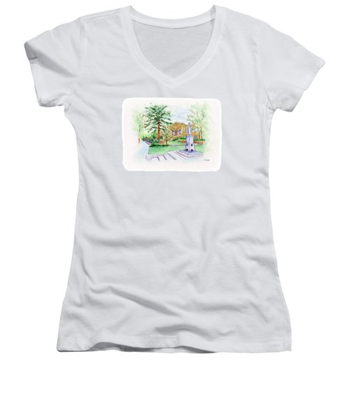 Library A Carnegie Original Women's V-Neck