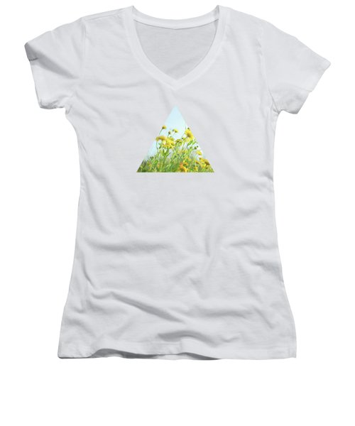Lie Back And Think Of England Women's V-Neck