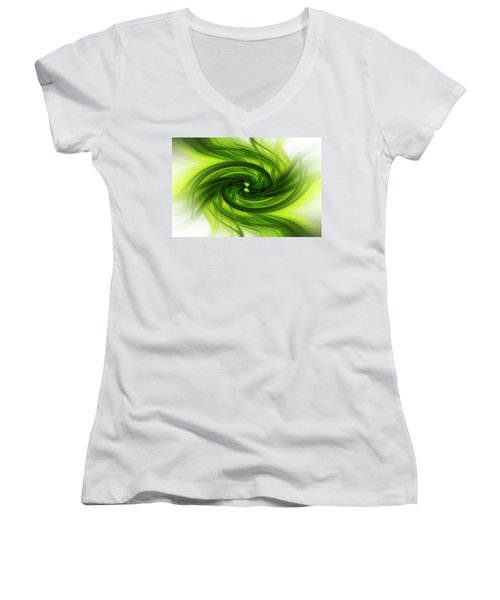 Light Abstract 8 Women's V-Neck