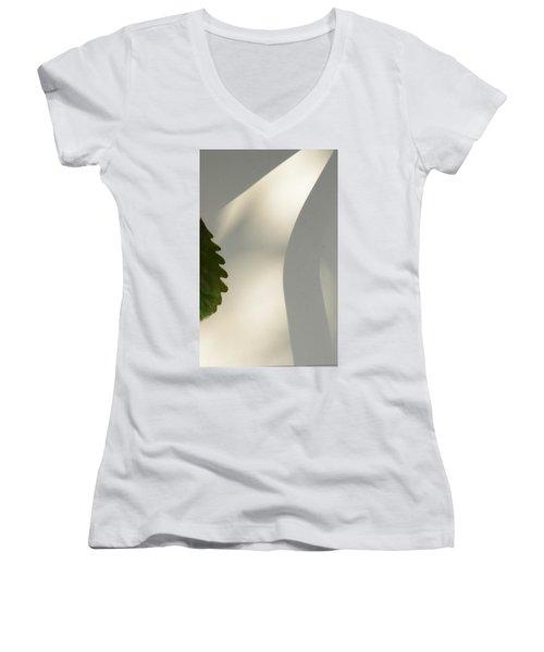 Light Women's V-Neck T-Shirt