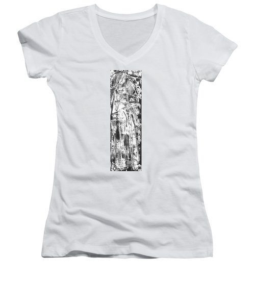 Light Women's V-Neck T-Shirt (Junior Cut)