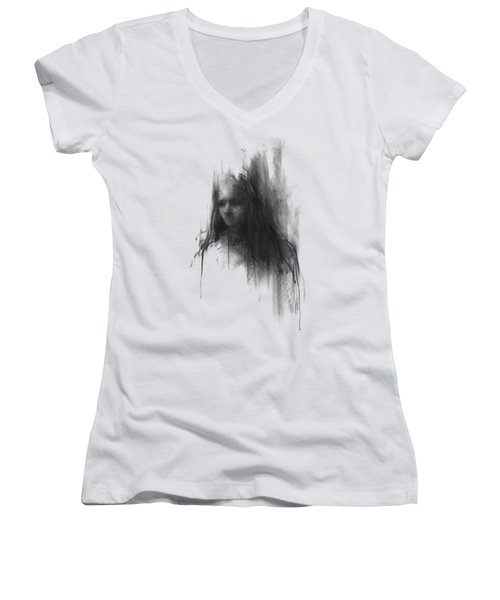 Like A Girl Women's V-Neck T-Shirt (Junior Cut)