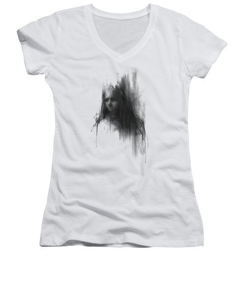 Like A Girl II Women's V-Neck T-Shirt (Junior Cut)