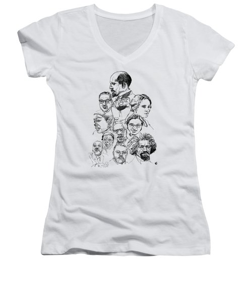 Like This Women's V-Neck T-Shirt (Junior Cut) by Howard Barry