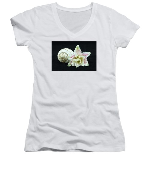 Lily And Shell Women's V-Neck (Athletic Fit)