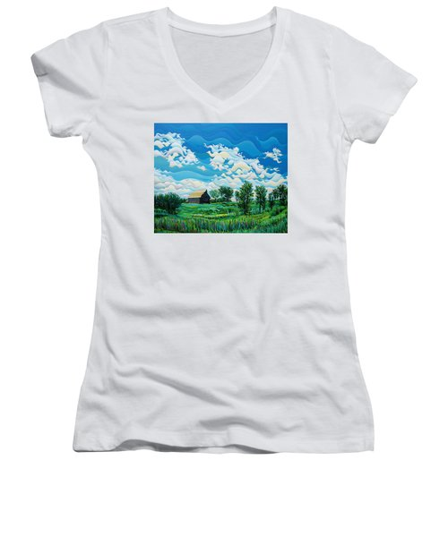 Limitless Afternoon Dreams Women's V-Neck