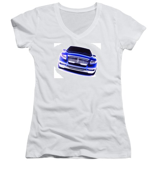 Lincoln Continental Women's V-Neck T-Shirt