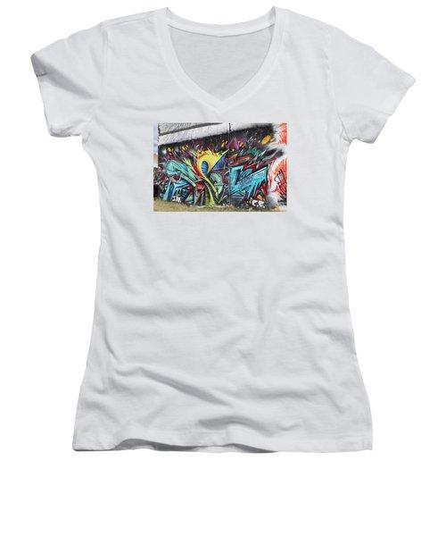 Lincoln Street Women's V-Neck T-Shirt