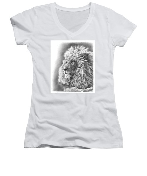 Lion King Women's V-Neck