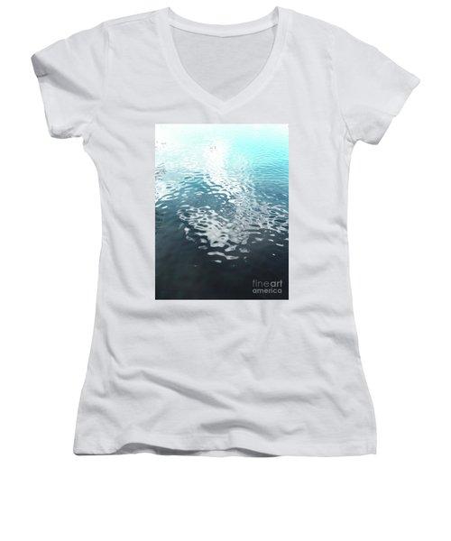 Liquid Blue Women's V-Neck T-Shirt