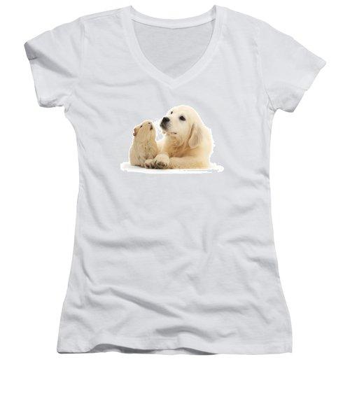 Listen When I'm Tellin Ya Women's V-Neck T-Shirt