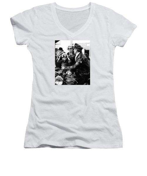 Little Rocker Women's V-Neck T-Shirt