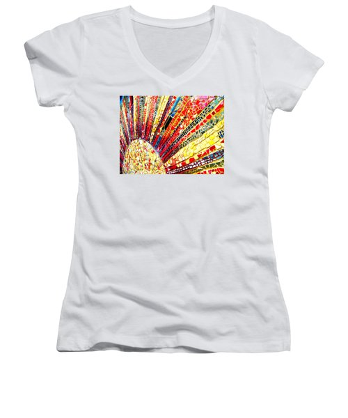 Living Edgewater Mosaic Women's V-Neck