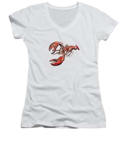 Lobster Women's V-Neck
