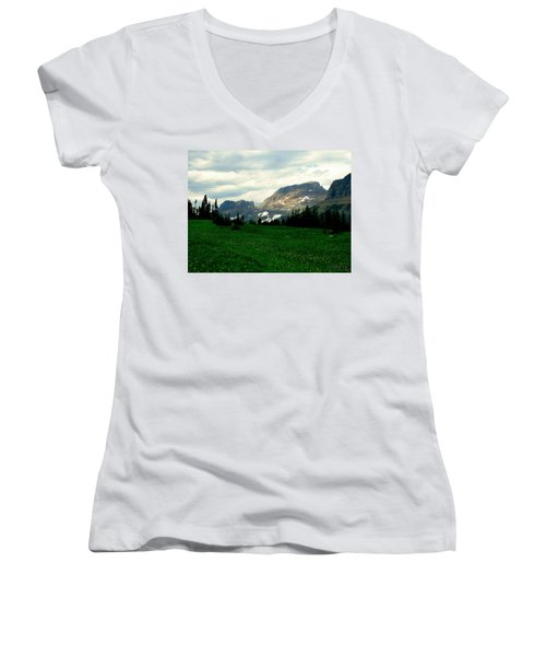 Logan's Pass Women's V-Neck T-Shirt