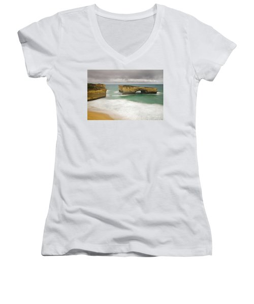 London Bridge 2 Women's V-Neck