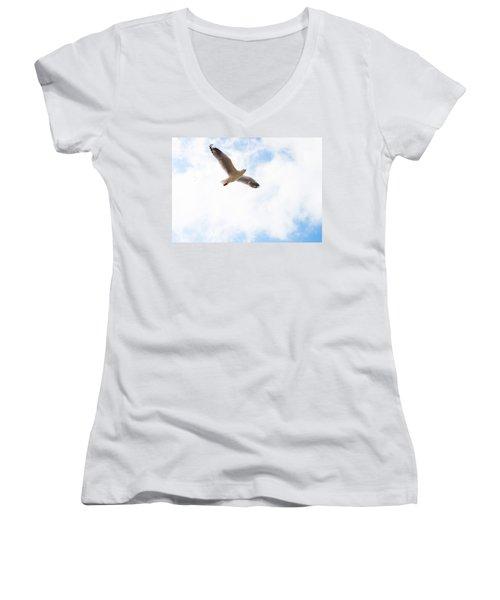 Lone Flyer Women's V-Neck
