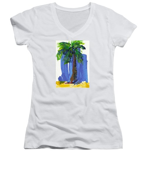 Lone Palm Women's V-Neck