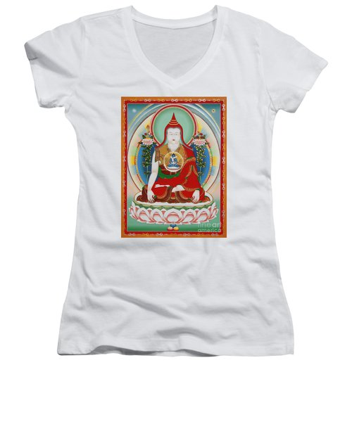 Longchenpa Women's V-Neck (Athletic Fit)