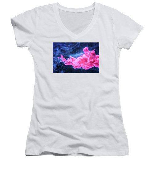 Looking For Fun - Modern Art Photography Women's V-Neck