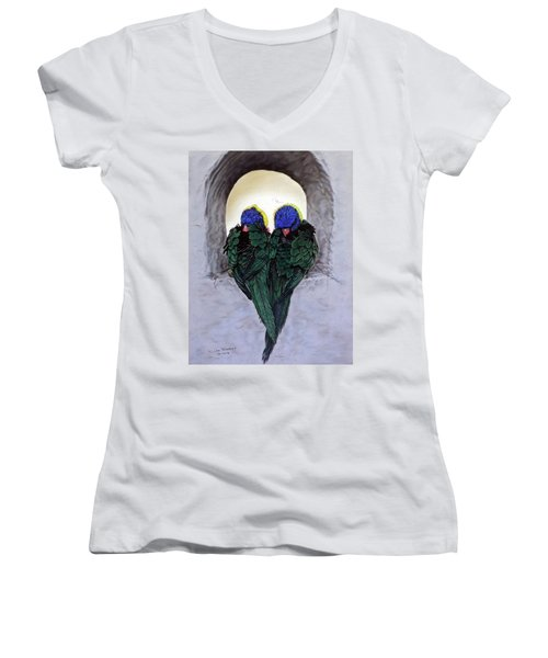 Lorikeets Women's V-Neck