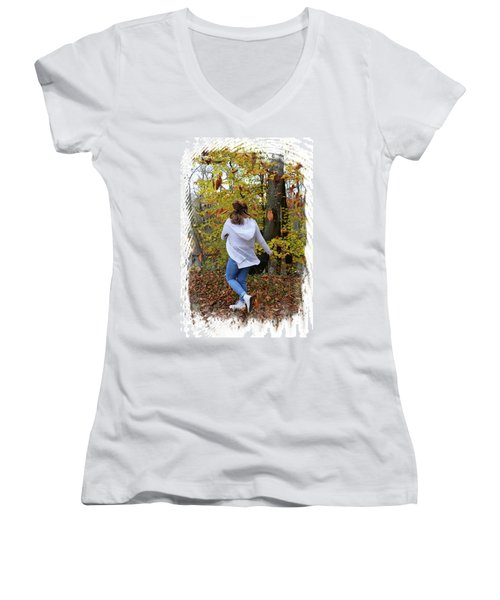 Lost Women's V-Neck (Athletic Fit)