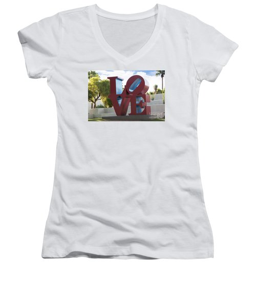 Love In The Park Women's V-Neck