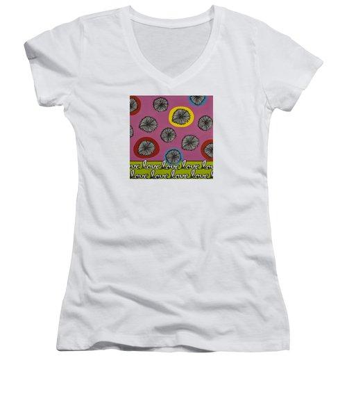 Love Multiplied Women's V-Neck T-Shirt