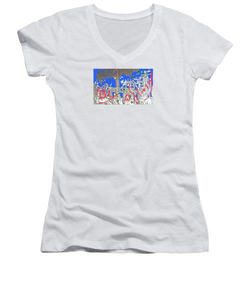 Joy Of Living Women's V-Neck T-Shirt