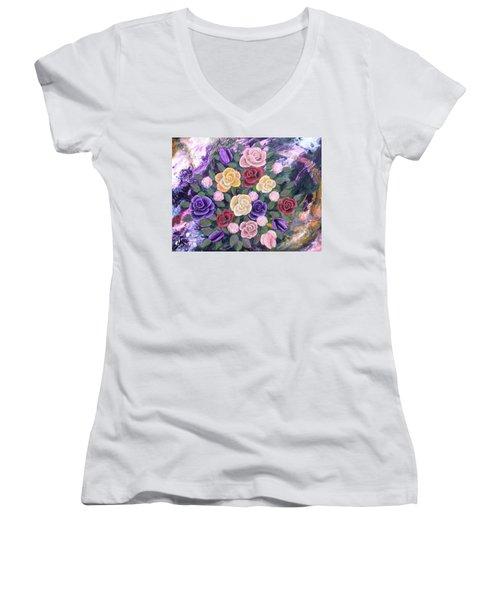 Loving Memory Women's V-Neck T-Shirt